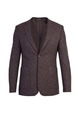Erkek Giyim - KOYU KAHVE 56 Beden Kuşgözü Ceket