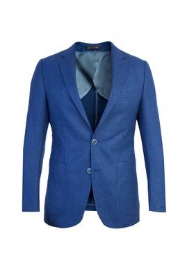Erkek Giyim - Mavi 50 Beden Kuşgözü Ceket