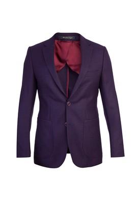 Erkek Giyim - Bordo 58 Beden Kuşgözü Ceket