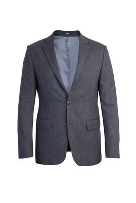 Erkek Giyim - Füme Gri 46 Beden Kuşgözü Ceket