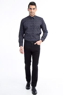 Erkek Giyim - Siyah 50 Beden Spor Kuşgözü Pantolon