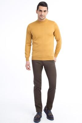 Erkek Giyim - HAKİ 50 Beden Kuşgözü Spor Pantolon