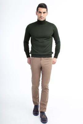 Erkek Giyim - TOPRAK 46 Beden Slim Fit Kuşgözü Spor Pantolon