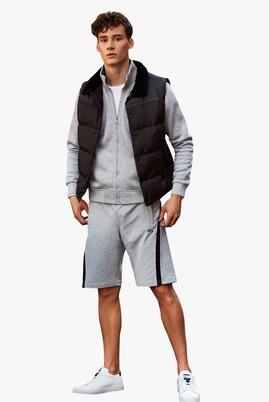 Erkek Giyim - Orta füme M Beden Spor Sweat Şort
