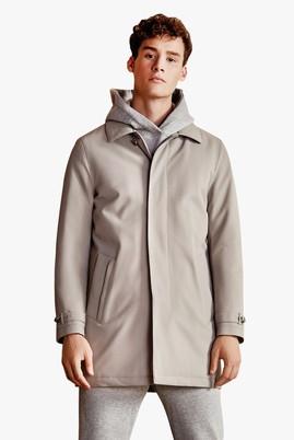 Erkek Giyim - Bej 50 Beden Klasik Pardösü
