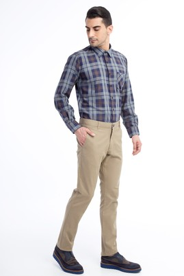 Erkek Giyim - VİZON 54 Beden Slim Fit Spor Pantolon