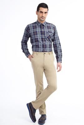 Erkek Giyim - Açık Kahve - Camel 50 Beden Spor Pantolon