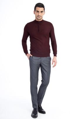 Erkek Giyim - Orta füme 50 Beden Klasik Pantolon