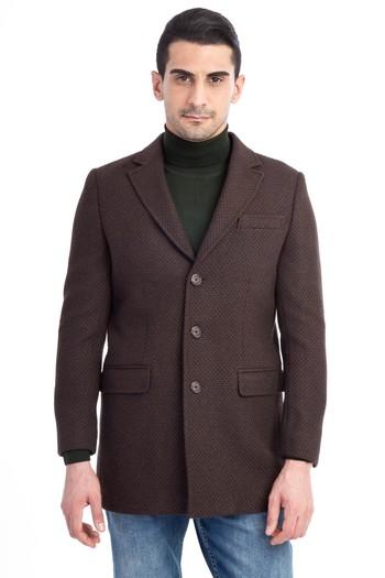 Erkek Giyim - Kaşe Yün Palto