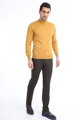 Erkek Giyim - KOYU YESİL 48 Beden Spor Pantolon