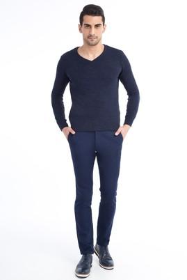 Erkek Giyim - KOYU MAVİ 48 Beden Spor Pantolon