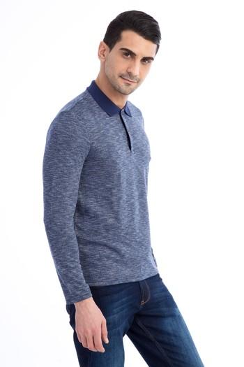 Erkek Giyim - Polo Yaka Sweatshirt