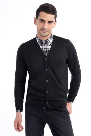 Erkek Giyim - Yünlü Hırka