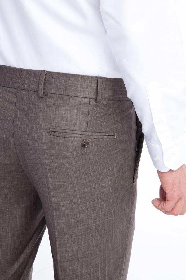 Slim Fit Ekose Klasik Pantolon