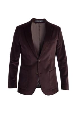 Erkek Giyim - Kahve 62 Beden Kadife Ceket