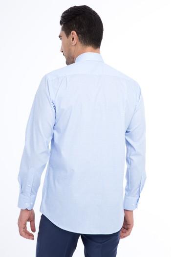 Erkek Giyim - Uzun Kol Ekose Klasik Gömlek