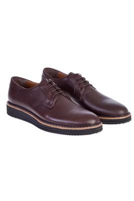 Erkek Giyim - Kahve 44 Beden Bağcıklı Casual Ayakkabı