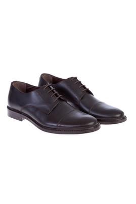 Erkek Giyim - Kahve 41 Beden Bağcıklı Klasik Ayakkabı