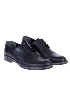 Erkek Giyim - Siyah 44 Beden Bağcıklı Casual Ayakkabı