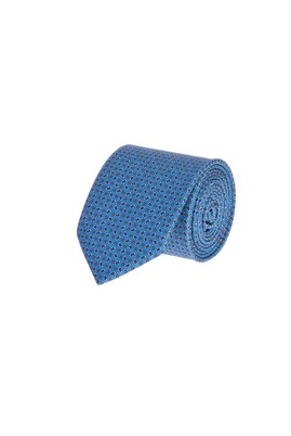 Erkek Giyim - Açık Mavi  Beden Desenli Kravat