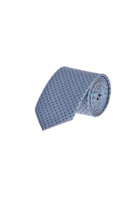Erkek Giyim - Füme Gri  Beden Desenli Kravat