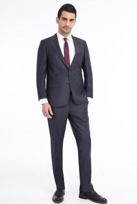Erkek Giyim - ANTRASİT 58 Beden Klasik Takım Elbise