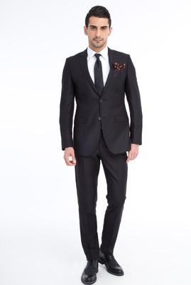 Erkek Giyim - Siyah 50 Beden Klasik Takım Elbise