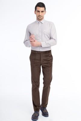 Erkek Giyim - HAKİ 50 Beden Kadife Pantolon