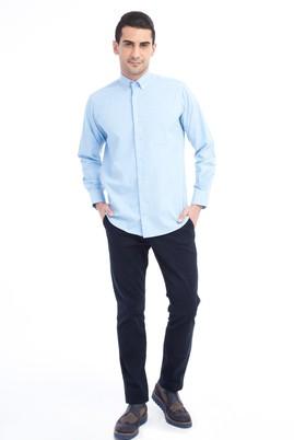 Erkek Giyim - LACİVERT 56 Beden Slim Fit Spor Pantolon