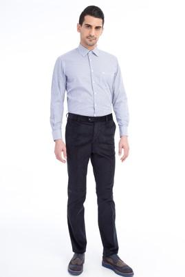Erkek Giyim - Lacivert 48 Beden Kadife Pantolon
