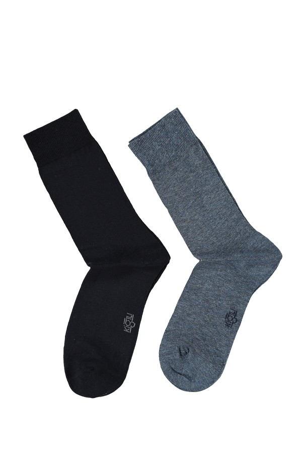 2'lİ Düz Çorap