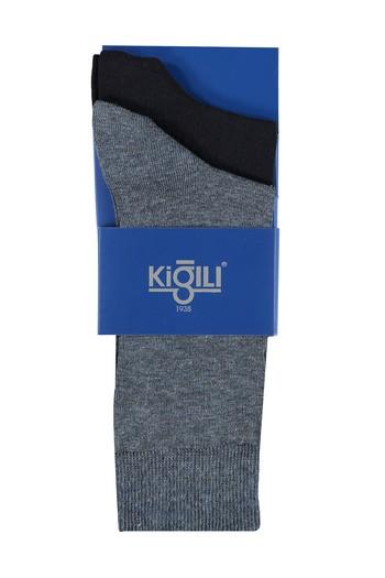 Erkek Giyim - 2'lİ Düz Çorap