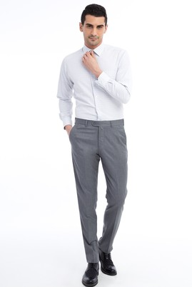 Erkek Giyim - Orta füme 54 Beden Klasik Pantolon