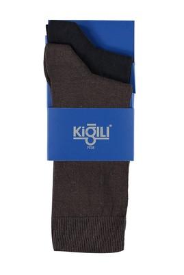 Erkek Giyim - Lacivert 42 Beden 2'li Düz Çorap