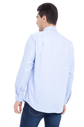 Erkek Giyim - Uzun Kol Klasik Oxford Gömlek