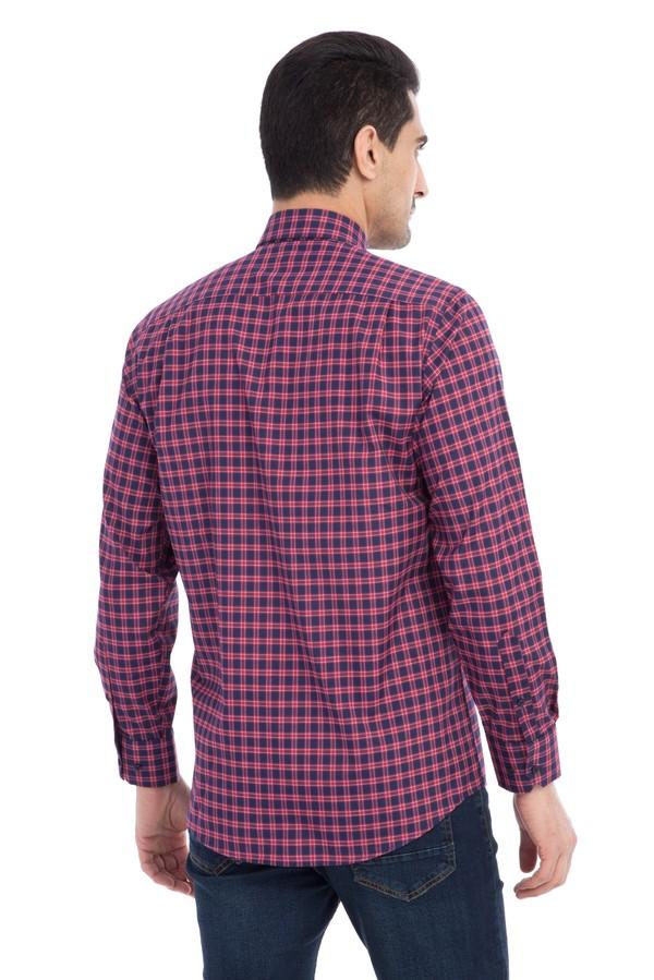 Uzun Kol Kareli Gömlek