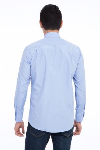 Erkek Giyim - Uzun Kol Çizgili Gömlek