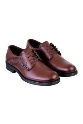Erkek Giyim - TABA 42 Beden Bağcıklı Deri Ayakkabı