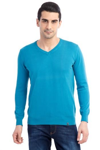 Erkek Giyim - V Yaka Triko Kazak