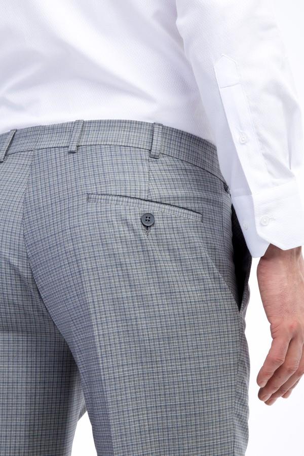 Slim Fit Ekose Pantolon