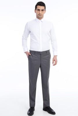 Erkek Giyim - Orta füme 56 Beden Klasik Pantolon