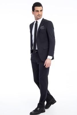 Erkek Giyim - Antrasit 60 Beden Klasik Takım Elbise