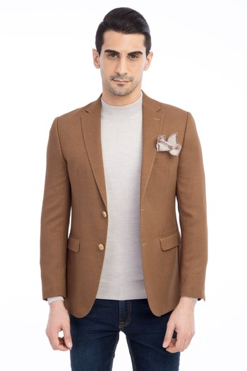 Erkek Giyim - Desenli Blazer Ceket