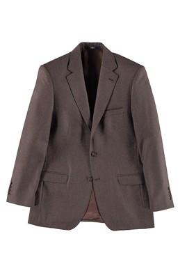 Erkek Giyim - Kahve 58 Beden Kuşgözü Ceket