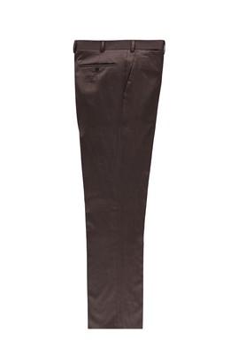Erkek Giyim - Kahve 50 Beden Flanel Pantolon