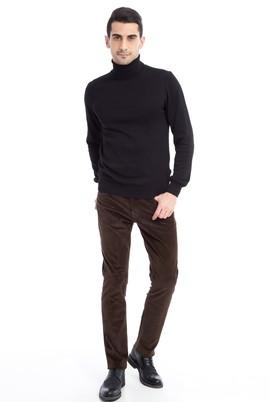 Erkek Giyim - HAKİ 48 Beden Kadife Pantolon