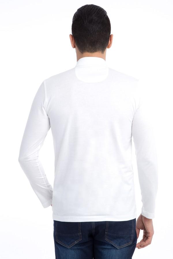 Polo Yaka Merserize Sweatshirt
