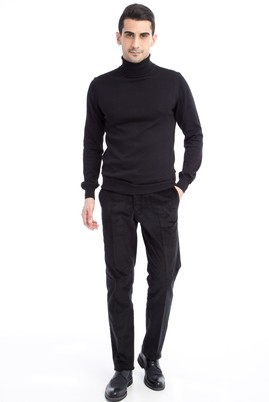 Erkek Giyim - Antrasit 46 Beden Kadife Pantolon