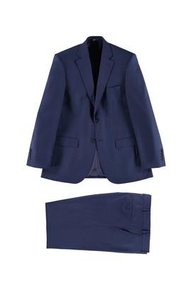 Erkek Giyim - Mavi 56 Beden Klasik Takım Elbise