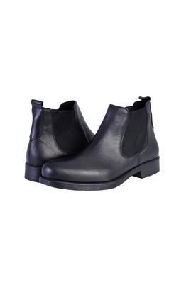 Erkek Giyim - Siyah 40 Beden Deri Bot